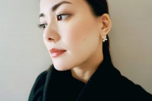 MIWAKO JEWELRY TOKYO Butterfly Pave Pierce