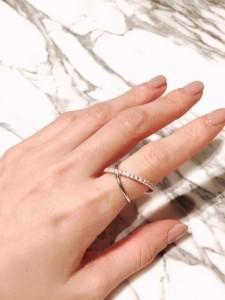 Eternity Cross Ring #2
