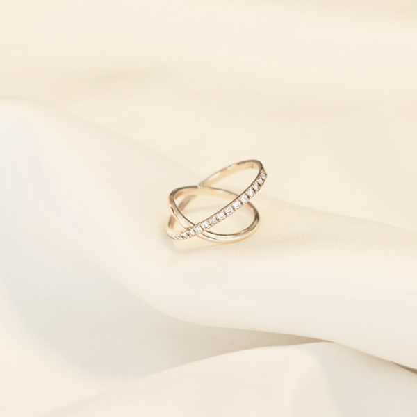 Eternity Cross Ring #2