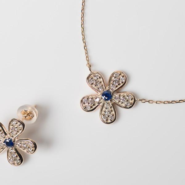 Diamond Full Pave Flower Series